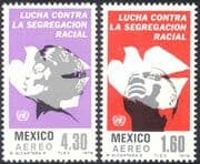 Mexico 1978 International Anti-Apartheid Year/ Racism/ People/ Human Rights/ Doves/ Birds 2v set (n42899)