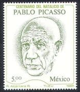 Mexico 1981 Picasso  /  Art  /  Artists  /  People  /  Painters 1v (  /  n39932)