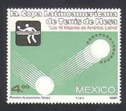 Mexico 1981 Sports  /  Table Tennis  /  Games  /  Animation 1v (n34021)