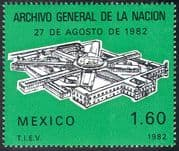 Mexico 1982 National Archive/ Buildings/ Architecture/ Animation 1v (n42037)