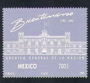 Mexico 1990 Buildings  /  Architecture  /  National Archive  /  Animation 1v (n34074)