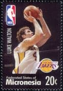 Micronesia 2004  Luke Walton/ Basketball/ Sports/ People/ Sportsmen  1v (s1968r)