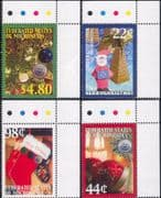 Micronesia 2009  Christmas/ Greetings/ Santa Claus/ Baubles/ Trees  4v set (n46354)