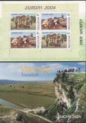 Moldova 2004 Europa/ Holidays/ Tourism/ Grapes/ Plants/ Nature/ Wine/ Archaeology/History/Heritage/Buildings 4v bklt (n40525)