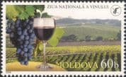 Moldova 2006 Grapes/ Wine/ Alcohol/ Plants/ Nature/ Horticulture/ Farming 1v (n45231)