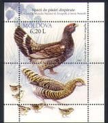 Moldova 2007 Capercaillie  /  Birds  /  Nature  /  Wildlife  /  Conservation 1v m  /  s (n35245)