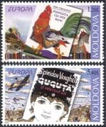 Moldova 2010 Europa/ Children's Books/ Reading/ Writers/ Plane/ Chicken/ Birds/ Transport 2v set (n44403)