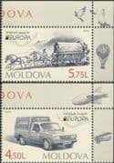 Moldova 2013  Europa/ Postal Transport/ Horse/ Cart/ Van/ Motor/ Animals 2v set (md1030)