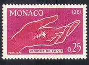 Monaco 1961 Nature  /  Ant  /  Insects  /  Conservation  /  Protection  /  Hand 1v (n39503)