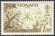 Monaco 1962 Malaria/ Mosquito/ Swamp/ Insects/ Medical/ Health/ Disease 1v (n30756)