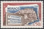 Monaco 1965 Television Festival/ Entertainment/ Buildings/ Animation 1v (n32324)