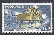 Monaco 1966 Submarine  /  Research Vessel  /  Divers  /  Diving  /  Transport 1v (n37948)