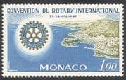 Monaco 1967 Rotary  /  People  /  Welfare  /  Health  /  Education  /  Animation  /  Harbour 1v (n40589)