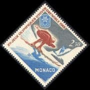 Monaco 1967 Winter Olympics  /  Sports  /  Olympic Games  /  Skiing 1v (n38960)