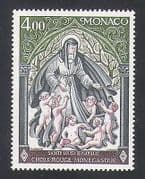 Monaco 1976 Red Cross Fund  /  St Louise  /  Saints  /  Health  /  Welfare 1v (n34188)