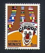 Monaco 1977 Circus  /  Clowns  /  Flags  /  Festival  /  Animation 1v (n33846)