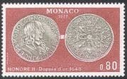 Monaco 1977 Coins/ Money/ Currency/ Commerce/ Business/ History 1v (n41701)