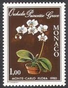 Monaco 1979 Flowers/ Plants/ Nature/ Orchids 1v (n34357)