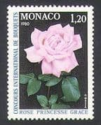 Monaco 1979 Flowers/ Plants/ Nature/ Roses/ Flower Show 1v n34356
