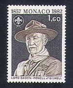 Monaco 1982 Baden-Powell  /  Scouts  /  Scouting  /  Leisure  /  Youth  /  People 1v (n33842)