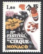 Monaco 1985 Circus  /  Clowns  /  Festival  /  Animation 1v (n32798)
