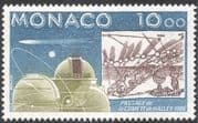 Monaco 1986 Halley's Comet/ Moon/ Space/ Astronomy/ Observatory/ Chart 1v (n19726)
