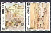 Monaco 1989 Old Monaco  /  Buildings  /  Architecture  /  History  /  Heritage 2v set (n37841)