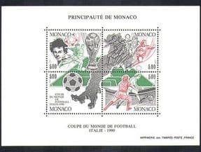 Monaco 1990 Football  /  World Cup  /  Italy  /  WC  /  Sport  /  Games  /  Soccer 4v m  /  s (n36663)