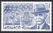 Monaco 1992 Coubertin  /  People  /  Olympic Games  /  Olympics  /  Sports  /  Athletics 1v (n40244)