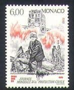 Monaco 1993 Fireman  /  Dog  /  Emergency Rescue  /  Fire Fighters  /  Animals  /  Nature 1v n35174