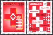 Monaco 1993 Red Cross/ Medical/ Health/ Welfare/ Emblem/ Coat-of-Arms 2v set (n25606)