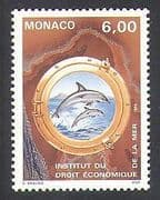 Monaco 1994 Dolphins  /  Nature  /  Marine  /  Wildlife  /  Rights of the Sea  /  Animals 1v n37951