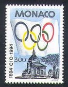 Monaco 1994 Sports  /  Olympics  /  Olympic Games  /  IOC 1v (n35169)