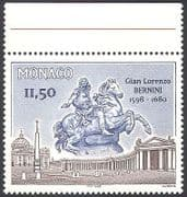 Monaco 1996 Bernini  /  Art  /  Sculpture  /  Statue  /  Horses  /  Artists  /  Buildings 1v (n40764)