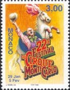 Monaco 1997 Circus  /  Clowns  /  Entertainment  /  Horses  /  Animation 1v (n34781)