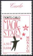 Monaco 1999 Magic/ Stars/ Festival/ Magician 1v (n41493)