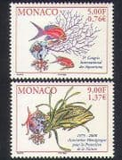 Monaco 2000 Aquaria  /  Nature Protection  /  Fish  /  Coral  /  Starfish  /  Conservation 2v n38395