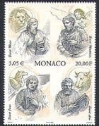 Monaco 2000 Bible  /  Apostles  /  Lion  /  Bull  /  Eagle  /  Angel  /  Animals  /  Birds  /  People 1v n38399