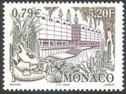 Monaco 2000 Cacti/ Plants/ Nature/ Museum/ Buildings/ Architecture/ Cactus 1v (n14183)