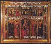 Monaco 2000 Cathedral  /  Altar Screen  /  Saints  /  Art  /  Painting  /  Carving 2v m  /  s (n38186)
