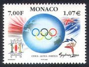 Monaco 2000 Olympic Games  /  Sports  /  Olympics  /  Flags  /  Mascot 1v (n38570)