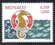 Monaco 2000 RAMOGE  /  Marine  /  Environment  /  Pollution  /  Conservation  /  Seahorse 1v n38693