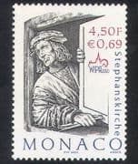 Monaco 2000 WIPA  /  St Stephen  /  People  /  Saints  /  StampEx 1v (n39120)