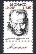 Monaco 2001 Andre Malraux  /  Writers  /  Books  /  Literature  /  People 1v (n38431)