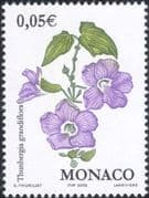 Monaco 2002 Blue Trumpet Vine/ Flowers/ Plants/ Nature/ Environment 1v (mc1068)
