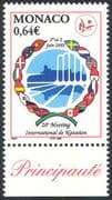 Monaco 2002 International Swimming Competition/ Sports/ Games/ Emblem 1v (n41451)