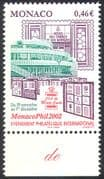 Monaco 2002 Stamp Exhibition/ Building/ Architecture/ Animation 1v (n41457)