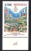 Monaco 2003 Stamp Exhibition  /  Flags  /  Buildings  /  StampEx  /  Animation 1v (n39122)