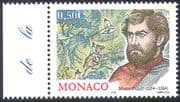 Monaco 2004 Marco Polo/ Explorers/ Exploration/ People/ Horses/ Camels/ Animals/ Transport 1v (n41491)