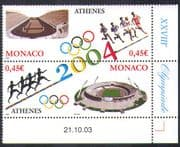 Monaco 2004 Olympics/ Olympic Games/ Sports/ Stadia/ Stadium/ Buildings/ Architecture 2v s-t pr (n38403)